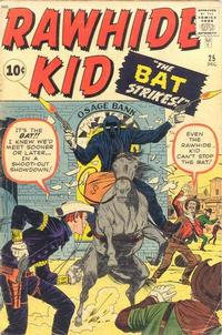 Cover Thumbnail for The Rawhide Kid (Marvel, 1960 series) #25