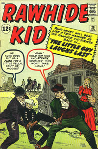 Cover for The Rawhide Kid (Marvel, 1960 series) #29