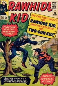Cover Thumbnail for The Rawhide Kid (Marvel, 1960 series) #40