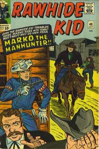 Cover Thumbnail for The Rawhide Kid (Marvel, 1960 series) #48