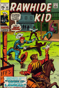 Cover Thumbnail for The Rawhide Kid (Marvel, 1960 series) #83