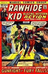 Cover Thumbnail for The Rawhide Kid (Marvel, 1960 series) #100