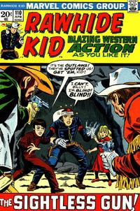 Cover Thumbnail for The Rawhide Kid (Marvel, 1960 series) #110