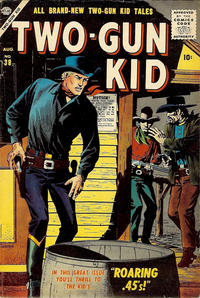 Cover Thumbnail for Two Gun Kid (Marvel, 1953 series) #38