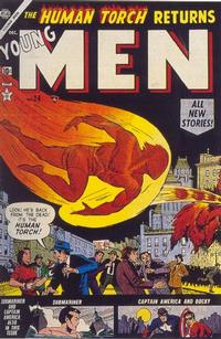 Cover Thumbnail for Young Men (Marvel, 1953 series) #24