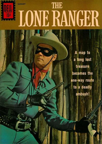 Cover for The Lone Ranger (Dell, 1948 series) #143