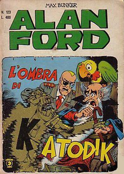 Cover for Alan Ford (Editoriale Corno, 1969 series) #123
