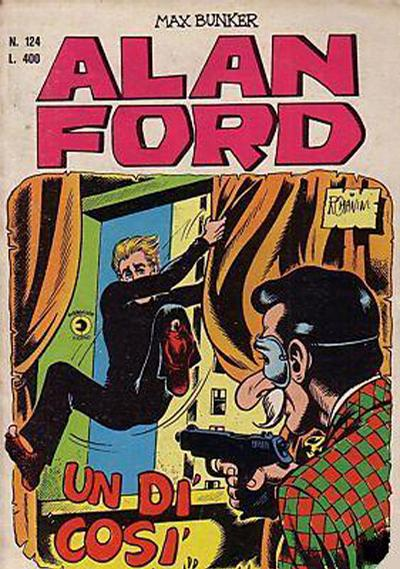 Cover for Alan Ford (Editoriale Corno, 1969 series) #124