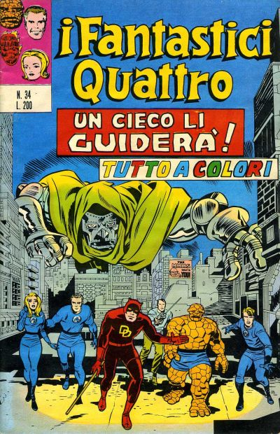 Cover for I Fantastici Quattro (1971 series) #34