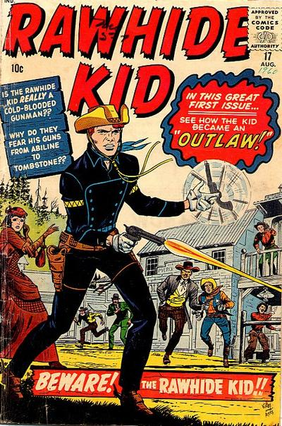 Cover for The Rawhide Kid (1960 series) #17