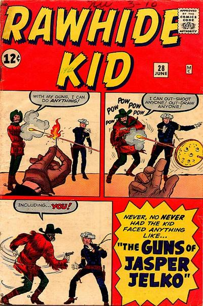 Cover for The Rawhide Kid (Marvel, 1960 series) #28