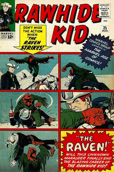 Cover for The Rawhide Kid (Marvel, 1960 series) #35
