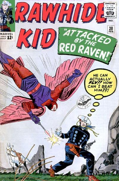 Cover for The Rawhide Kid (Marvel, 1960 series) #38