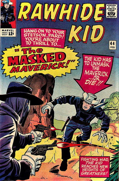 Cover for The Rawhide Kid (Marvel, 1960 series) #44