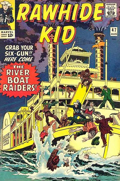 Cover for The Rawhide Kid (Marvel, 1960 series) #47