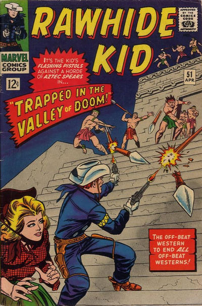 Cover for The Rawhide Kid (1960 series) #51