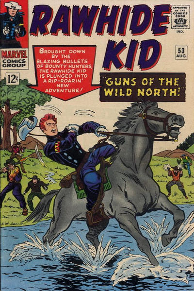 Cover for The Rawhide Kid (1960 series) #53