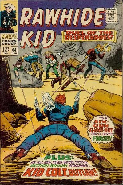 Cover for The Rawhide Kid (1960 series) #64