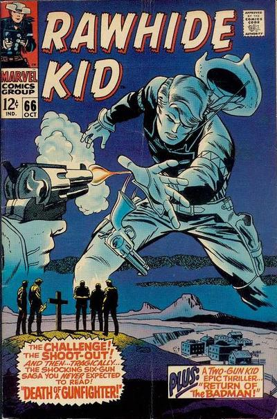 Cover for The Rawhide Kid (Marvel, 1960 series) #66