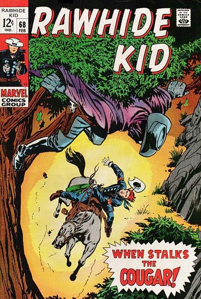 Cover for The Rawhide Kid (Marvel, 1960 series) #68