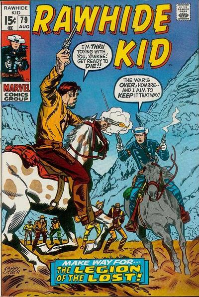 Cover for The Rawhide Kid (Marvel, 1960 series) #79