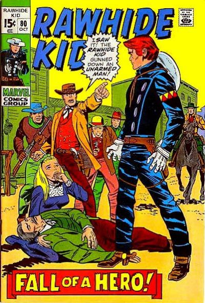 Cover for The Rawhide Kid (1960 series) #80