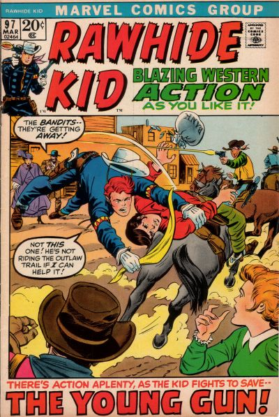 Cover for The Rawhide Kid (Marvel, 1960 series) #97