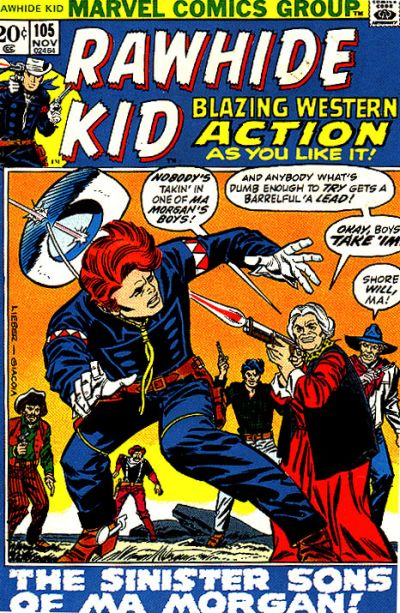 Cover for The Rawhide Kid (Marvel, 1960 series) #105