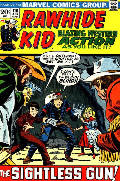 Cover for The Rawhide Kid (Marvel, 1960 series) #110