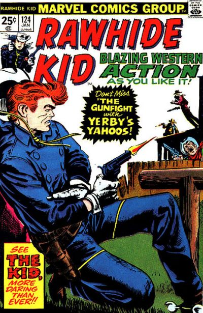Cover for The Rawhide Kid (Marvel, 1960 series) #124