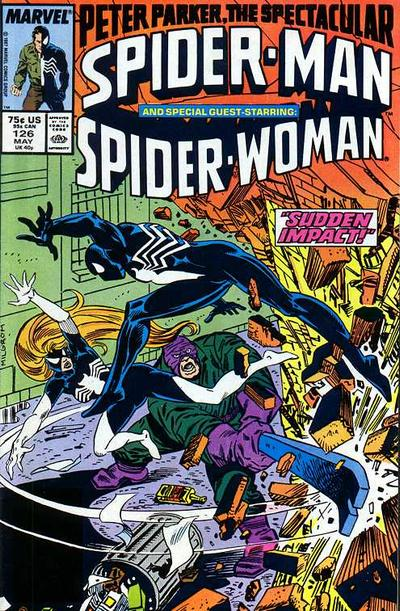 Cover for The Spectacular Spider-Man (Marvel, 1976 series) #126 [direct]