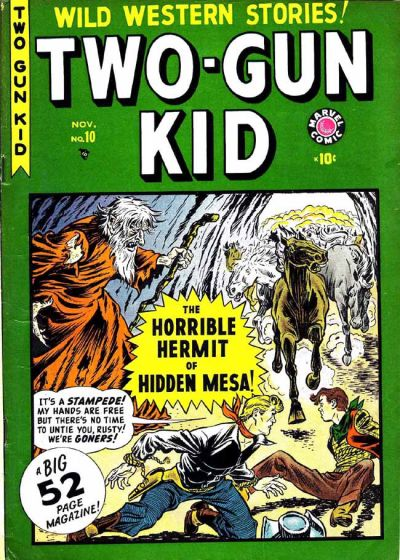 Cover for Two-Gun Kid (Marvel, 1948 series) #10