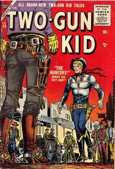 Cover for Two Gun Kid (Marvel, 1953 series) #29