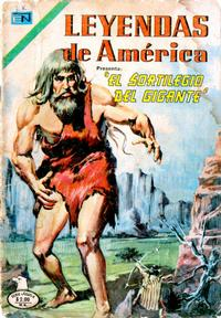 Cover Thumbnail for Leyendas de América (Editorial Novaro, 1956 series) #271