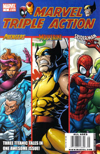 Cover Thumbnail for Marvel Triple Action (Marvel, 2009 series) #1