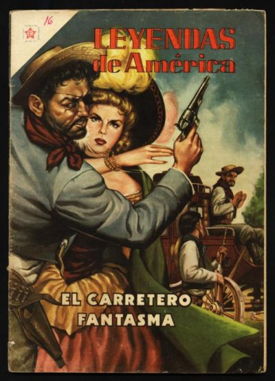 Cover for Leyendas de América (Editorial Novaro, 1956 series) #16