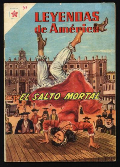 Cover for Leyendas de América (Editorial Novaro, 1956 series) #41