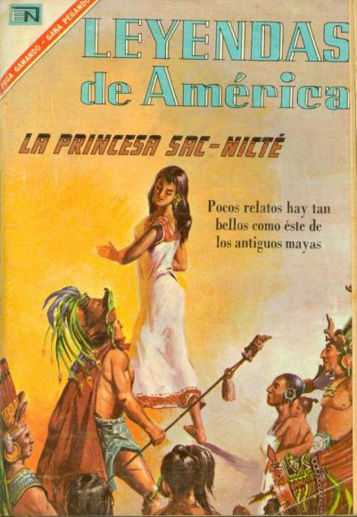 Cover for Leyendas de América (1956 series) #131