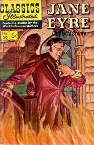 Cover for Classics Illustrated (Gilberton, 1947 series) #39 [HRN 142] - Jane Eyre