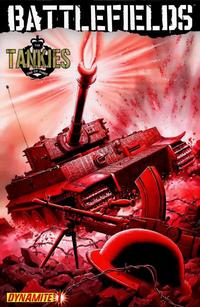Cover Thumbnail for Battlefields: The Tankies (Dynamite Entertainment, 2009 series) #1 [Garry Leach Cover]
