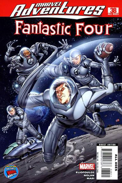 Cover for Marvel Adventures Fantastic Four (Marvel, 2005 series) #38