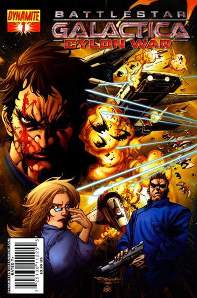 Cover for Battlestar Galactica: Cylon War (2009 series) #1