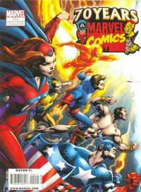Cover Thumbnail for Marvel Comics 70th Anniversary Celebration Magazine (Marvel, 2009 series)  [Left Cover]