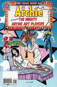 Cover Thumbnail for Mighty Archie Art Players, Free Comic Book Day Edition (Archie, 2009 series) #1