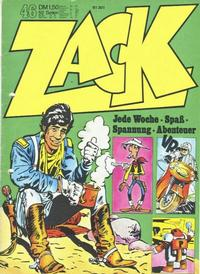 Cover Thumbnail for Zack (Koralle, 1972 series) #46/1972