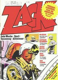Cover Thumbnail for Zack (Koralle, 1972 series) #24/1973