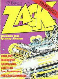 Cover Thumbnail for Zack (Koralle, 1972 series) #27/1973