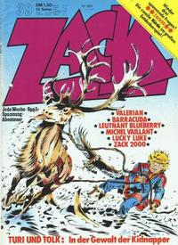 Cover Thumbnail for Zack (Koralle, 1972 series) #39/1973