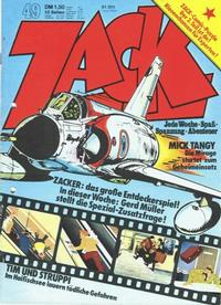 Cover Thumbnail for Zack (Koralle, 1972 series) #49/1973