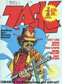 Cover Thumbnail for Zack (Koralle, 1972 series) #1/1974